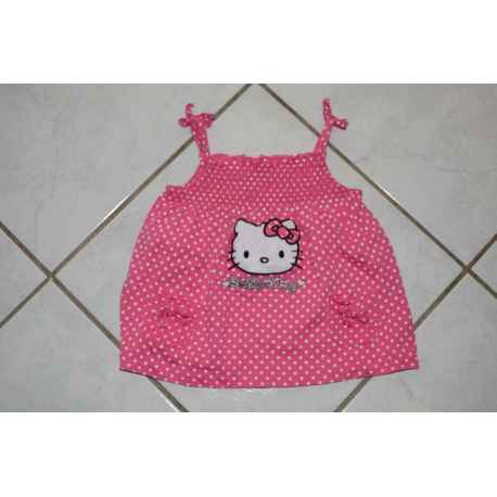 Tunique HELLO KITTY 6 mois