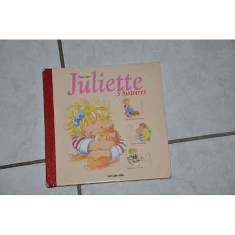 Livre JULIETTE 3 histoires