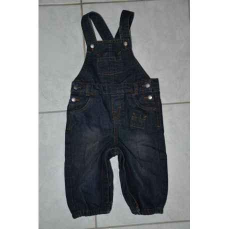 Salopette en jeans KITCHOUN 9 mois