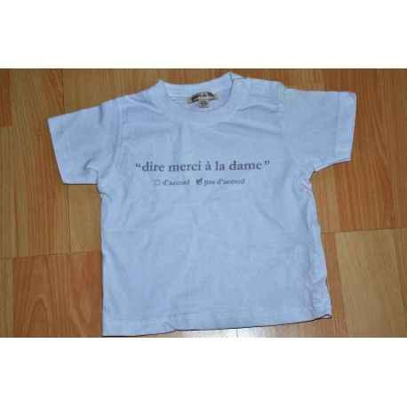 Tee shirt GRAIN DE BLE en 6 mois