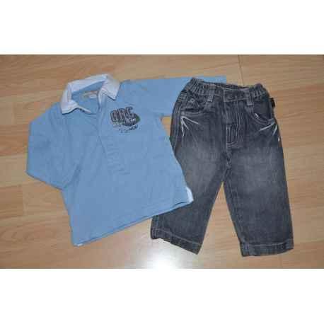 Ens. Polo + Jeans ORCHESTRA 6 mois