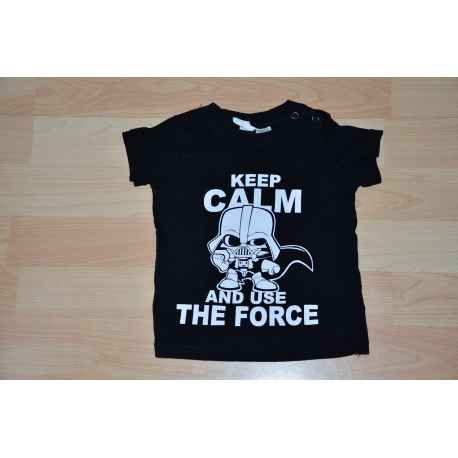 "Tee shirt H&M ""STAR WARS "" 4/6 mois"