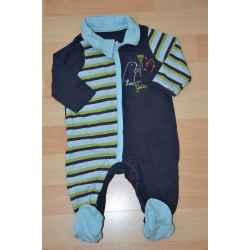 Pyjama ORCHESTRA en coton 3 mois