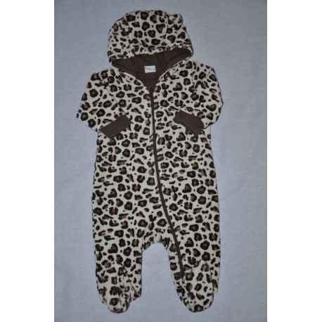 Combinaison H&M léopard 2/4 mois