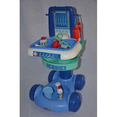 Chariot médical + accessoires