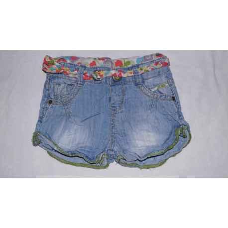 Short en jeans ZARA 6/9 mois