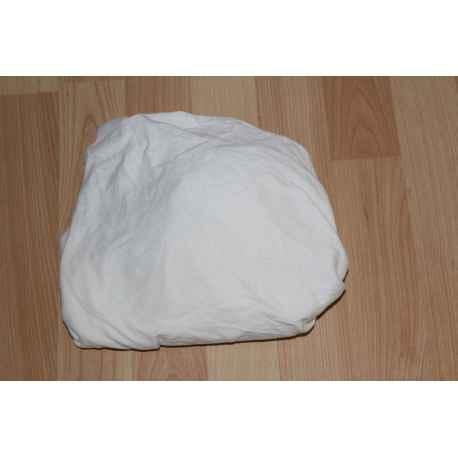 Drap housse blanc 60/120cm