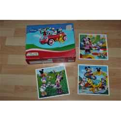 3 Puzzles DISNEY Club Mickey