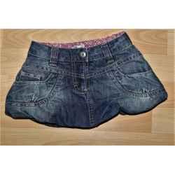 Jupe en jeans boule TAPE A L'OEIL 2 ans
