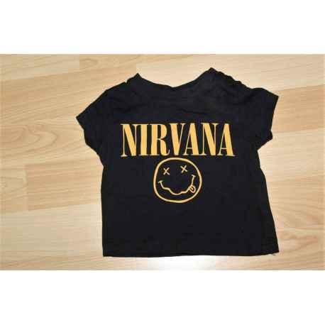 Tee shirt NIRVANA 1 mois