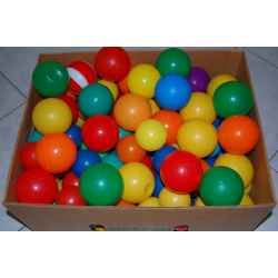 Lot de 100 balles multicolore