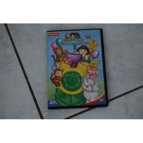 """dvd LITTLE PEOPLE """" découverte des animaux"""""""